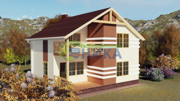 Визуализация фасадов проект Фаетон