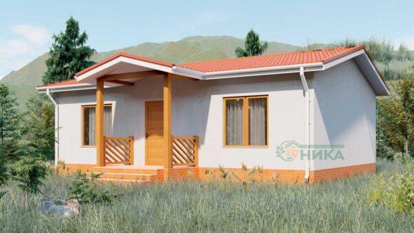 Визуализация проекта дома Мадлен