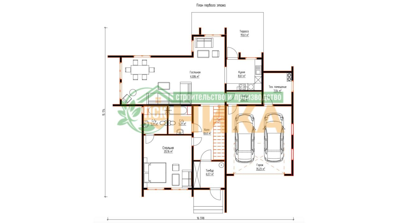 Планировки СИП проекта дома Аспер