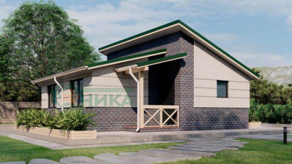Визуализация дома по проекту Аида.
