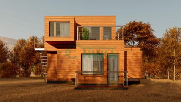 Изображение проекта дома Панорама Коктебеля