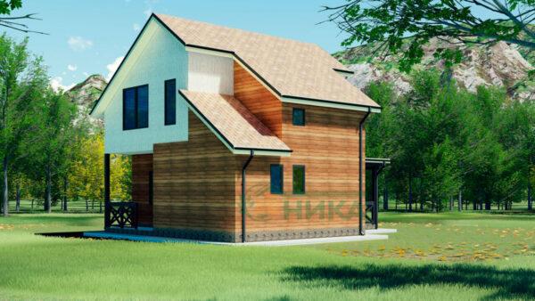 Планы этажей по проекту Малавита из СИП панелей
