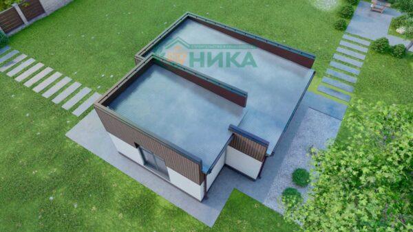 Визуализации по проекту дома Санторини
